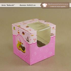 Różowe pudełka na muffiny - Zdjęcie 3