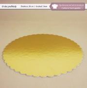 Grube podkłady pod tort - 28cm - Zdjęcie 1