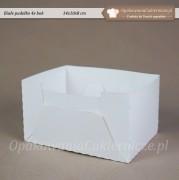 Biale pudelko cukiernicze - 14x10x8 cm - Zdjecie 1